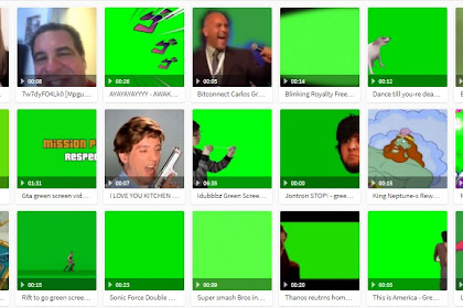 kumpulan green screen terbaru 2020
