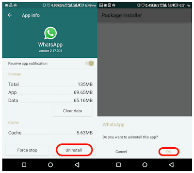 Cara Uninstall WhatsApp di Android dan iPhone tanpa ribet