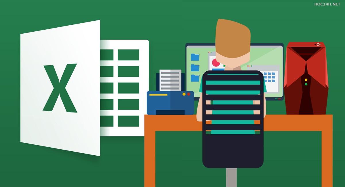 Khóa học Excel ứng dụng cho kế toán và hành chính nhân sự