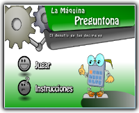 EL JUEGO DE LA MÁQUINA PREGUNTONA