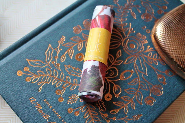 lük beautifood lip nourish swatches and review