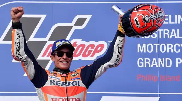 Marquez Wins Australian MotoGP Thanks to Intelligent Strategy