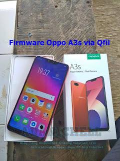 Firmware Oppo A3s via Qfil
