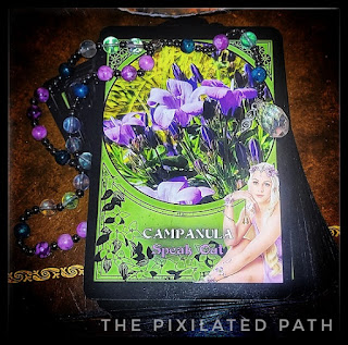 Campanula Card from The Flower Magic Oracle