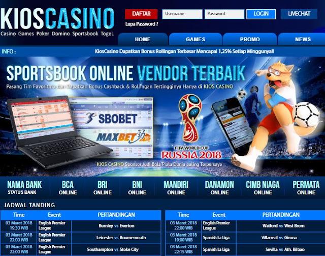 Link Alternatif KiosCasino
