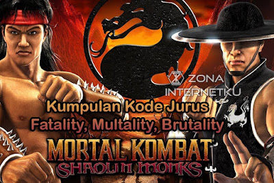 Complete Collection of Fatality, Multality, Mortal Kombat Shaolin Monks PS2