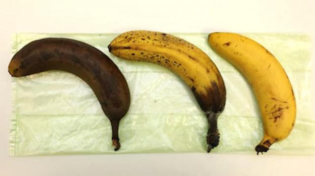 اللون الأسود في الموز