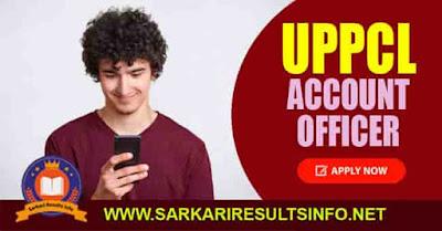 UPPCL Account Officer AO Apply Online 2020