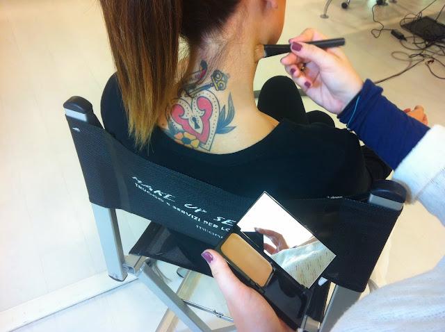 Come coprire un tatuaggio con il trucco: VICHY Dermablend fondotinta, correttore, prezzo e INCI - VIDEO Zombie Boy