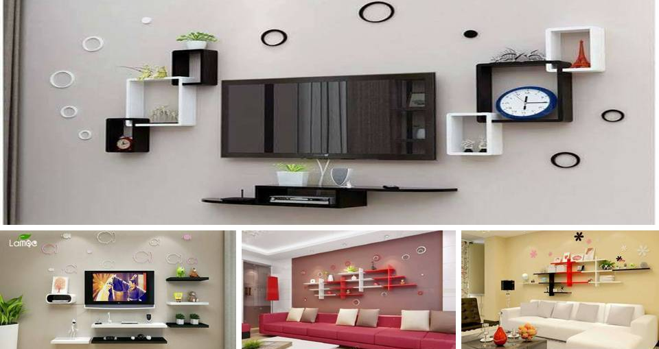 20 Pretty Wall Shelves Decorating Ideas