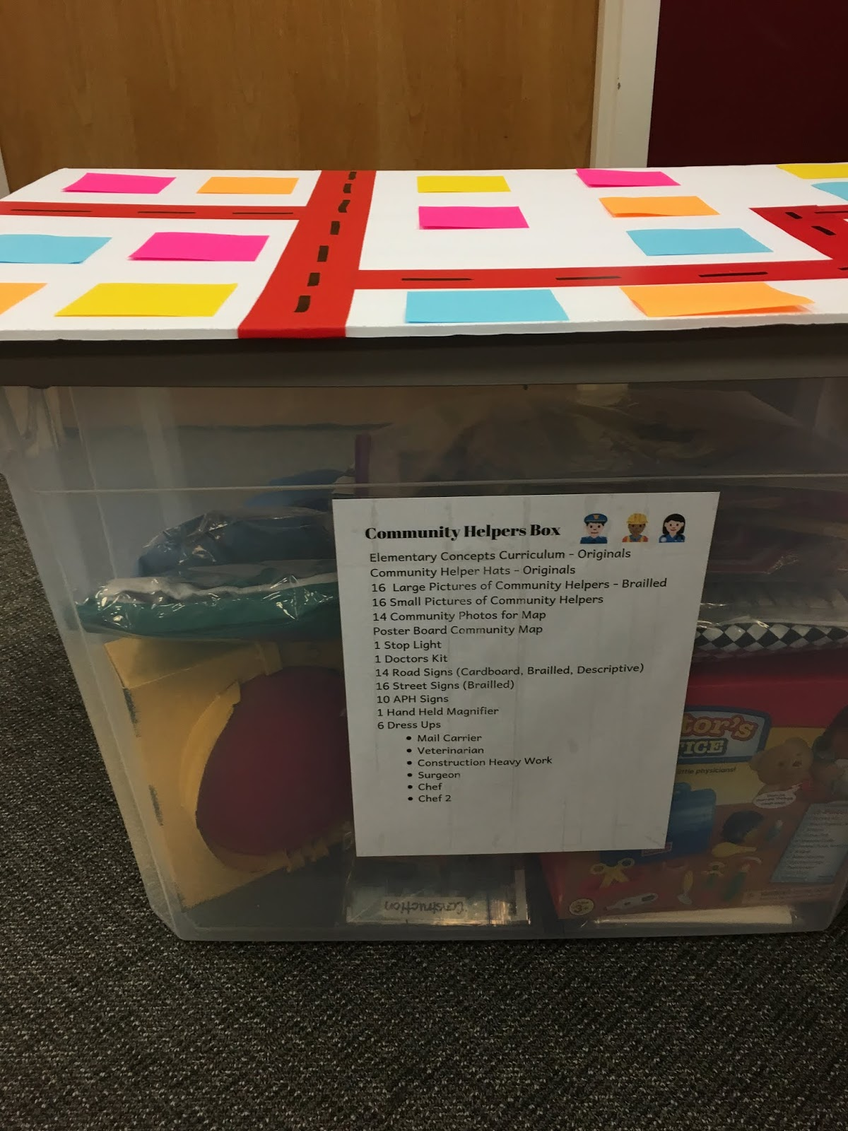 a photo of the community partners kit