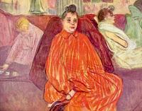 Prostituées de Maison close Toulouse Lautrec