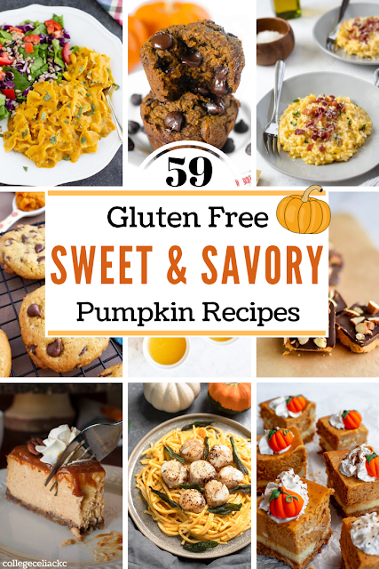 59 Sweet and Savory Gluten Free Pumpkin Recipes