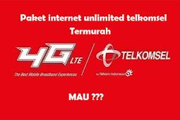 6 Paket Internet Telkomsel Unlimited Termurah