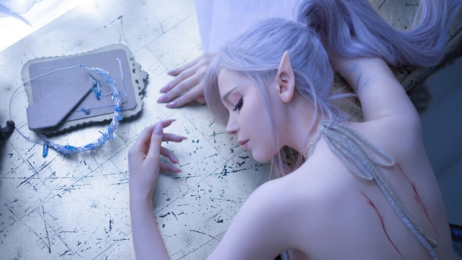 GhostBlade, Fantasy, Cosplay, Girl, 4K, #6.2629