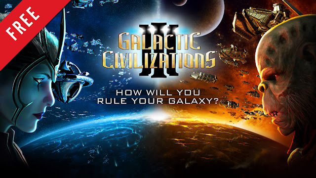 galactic civilizations 3 free pc game epic store 4X turn-based strategy game stardock entertainment