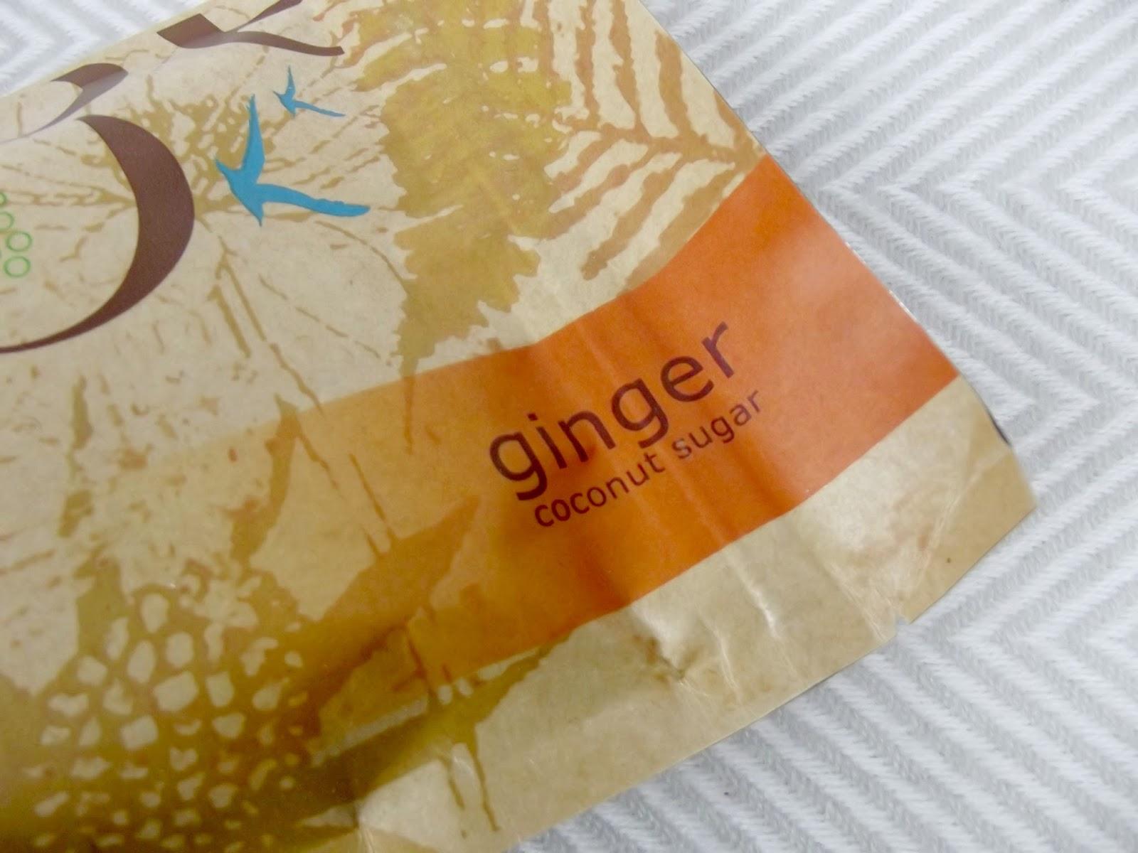 Coconom Ginger Coconut Sugar