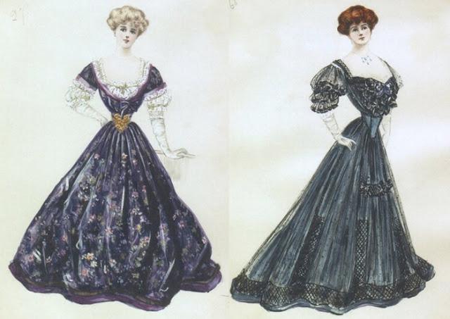 vestidos de Lucile