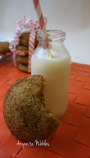 """Brown Sugar Cookies with Almond and Brown Butter from www.anyonita-nibbles.com One pinner said, """"These are the BEST cookies I've EVER made!"""""""