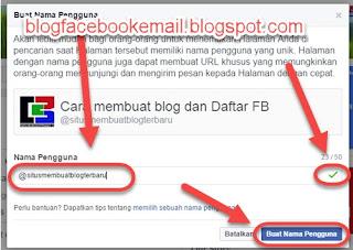 Tutorial Mengganti Nama dan Namapengguna / URL FansPage di Facebook Terbaru 12