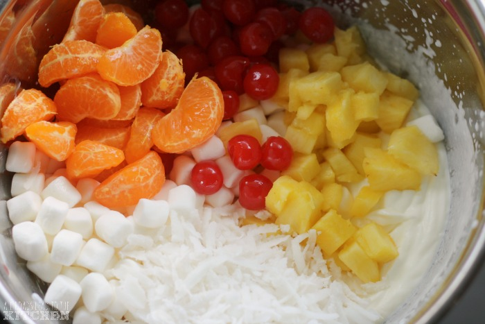 Ambrosia Salad | Edward Scissorhands