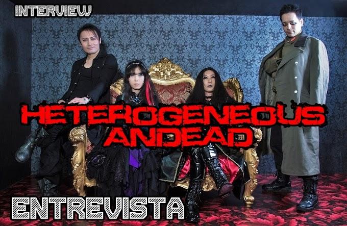 """Entrevista a """"Heterogeneous Andead"""" banda de metal sinfónico de Japón."""