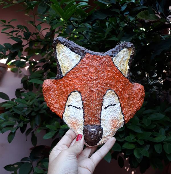 Máscara de raposa