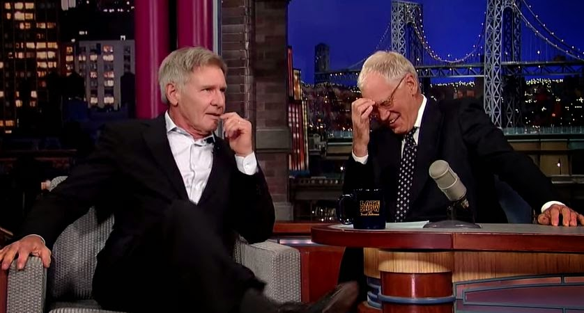 harrison ford on david letterman