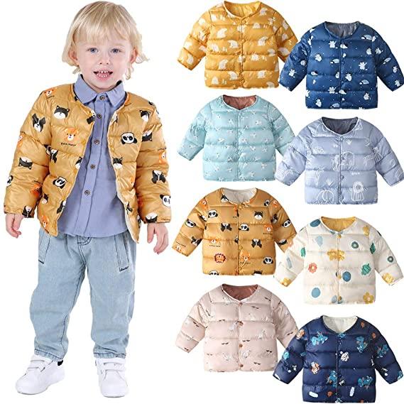50% OFF Winter Coats for Kids with Hoods Cartoon