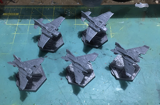 Aeronautica Imperialis Thunderbolts and Lightnings WIP