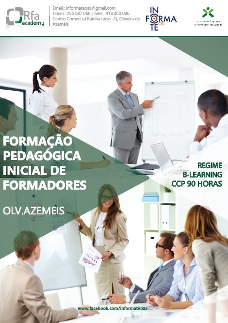 Curso de formação de formadores em Oliveira de Azeméis (para obtenção do CCP)