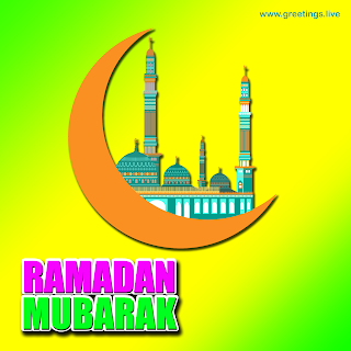 Best Ramadan mubarak Crescent Moon mosque