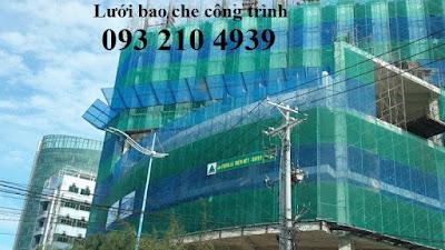 Lưới chắn bụi công trình Green 3mx50m