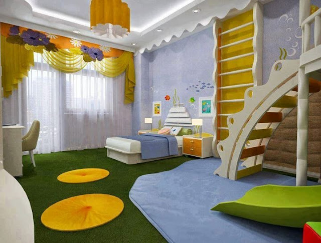 en images belles chambres d 39 enfants tr s originales le blog d co top. Black Bedroom Furniture Sets. Home Design Ideas