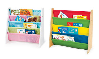 KiddyPlay Wooden Book Storage Rack, Pastel ForKids Childern funiture – Deal Price £18.98