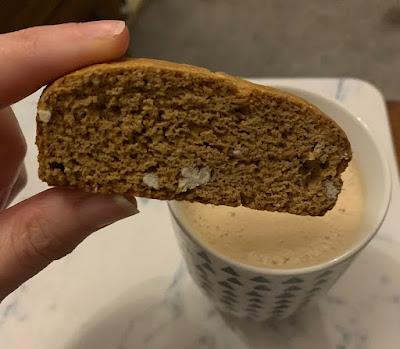 Baked Pecan Biscotti (Hotel Chocolat)