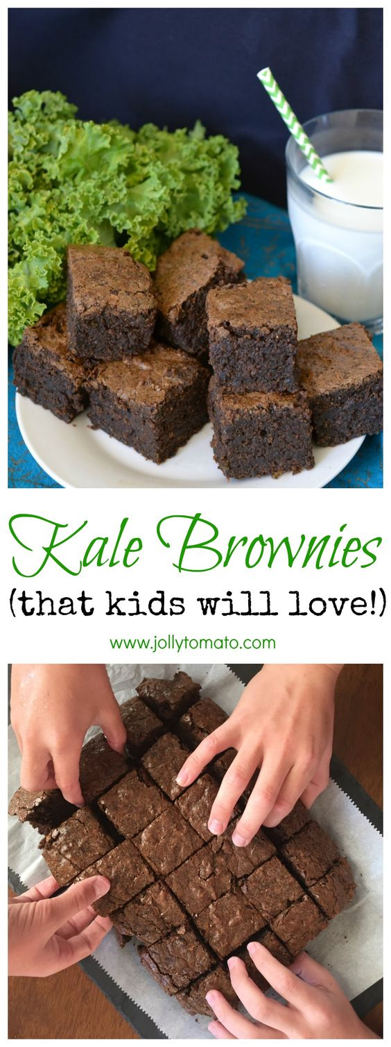 Kale Brownies