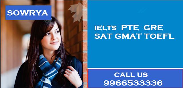 Coaching Center for IELTS,GRE,PTE,SAT,GMAT,TOEFL