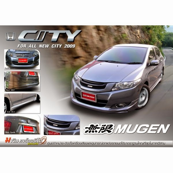 Body Kit Honda City Mugen 2009-2011