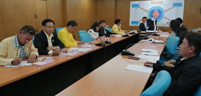 ประชุมคณะกรรมการพิจารณาเลื่อนค่าตอบแทนพนักงานราชการ
