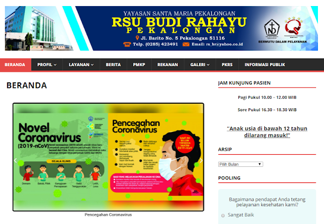 Jadwal Dokter RS Budi Rahayu Pekalongan