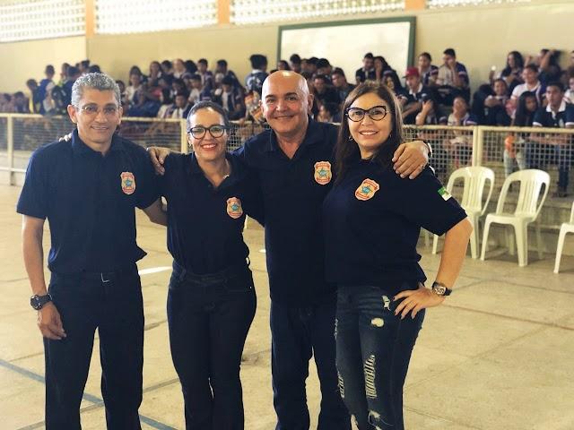 Policiais federais confirmam palestras para alunos da rede pública em Lagoa de Pedras, Macau e Parnamirim