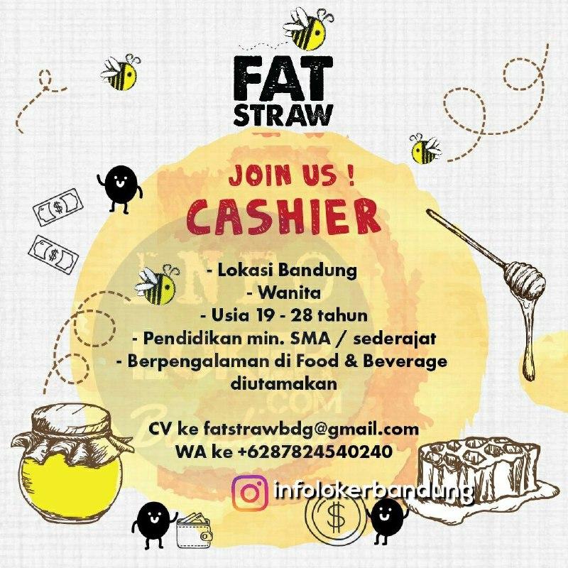 Lowongan Kerja Fat Straw Bandung Maret 2018