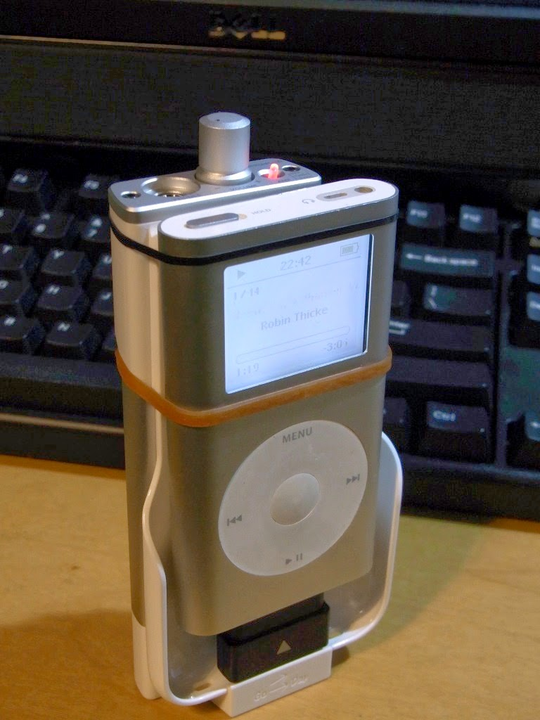 卓上オーディオ (Tabletop Audio): Go-Dap GD-03 - 安くて遊べる iPhone
