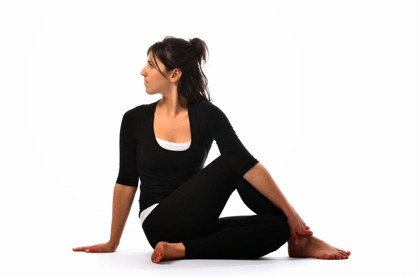 Ardha Matsyendrasana : The Half Spinal Twist | Atmabodh; Self Reailsation