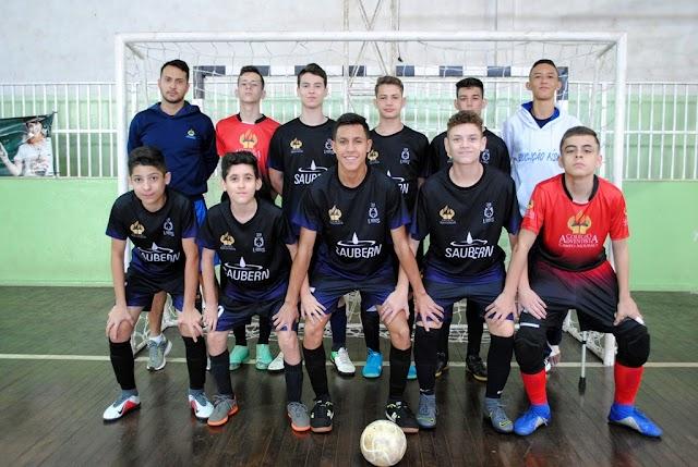ASTORGA: Campo Mourão e Ubiratã confirmam vitórias no Futsal Masculino de 12 a 14 anos