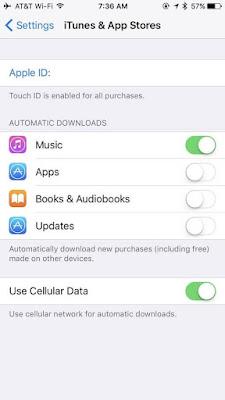 Jangan Update Aplikasi Secara Otomatis