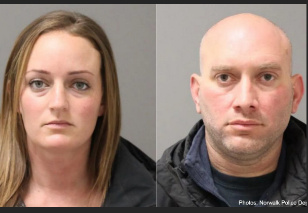 Two Connecticut cops uncovered in Norwalk hotel room while on duty faces criminal charges