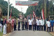 Tim Dit Binmas Polda Aceh Supervisi Kampung Tangguh Nusantara di Kecamatan Simpang Kanan