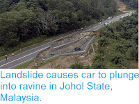 https://sciencythoughts.blogspot.com/2018/01/landslide-causes-car-to-plunge-into.html